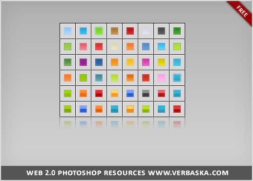 42组不同风格的Photoshop图层样式素材下载