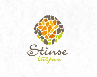 17个鲜花造型logo标志设计方案参考