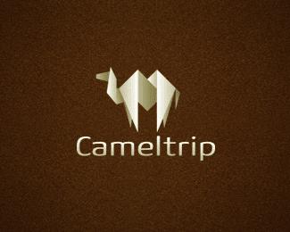13个骆驼造型的标志logo设计方案