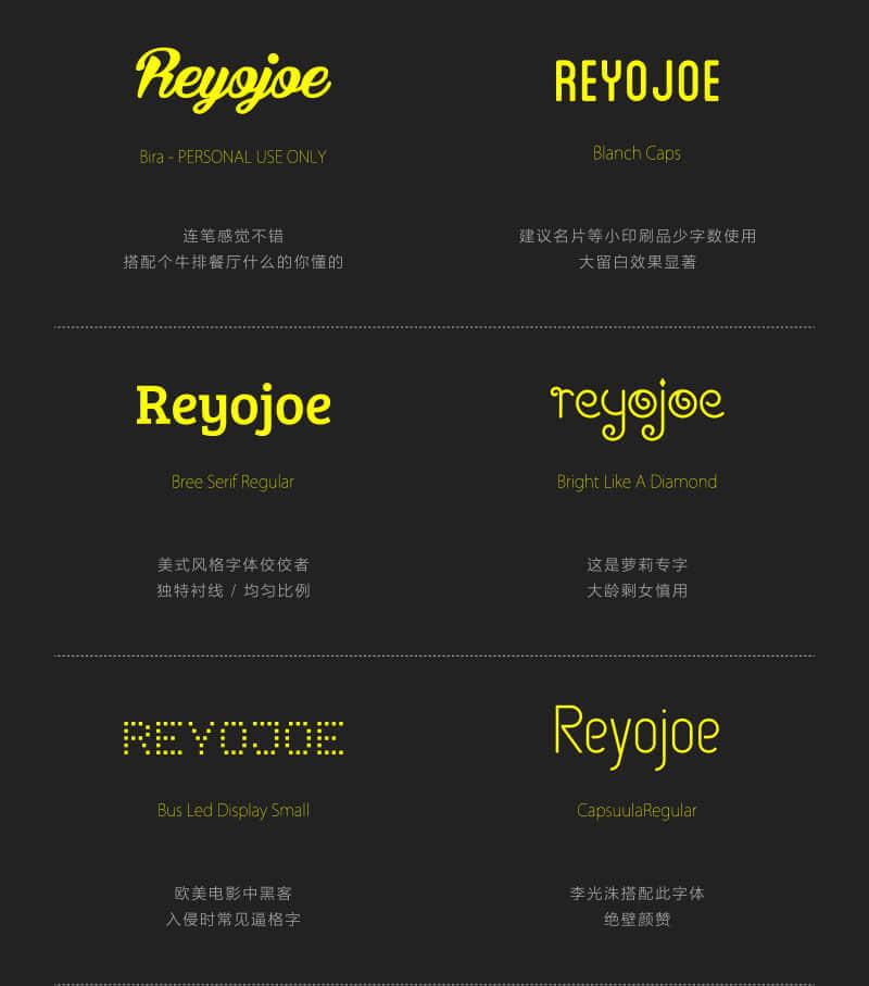 帮你推荐优雅、有范的设计字库:英文字体样式推荐(二)