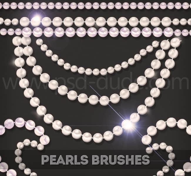 珍珠项链PS笔刷