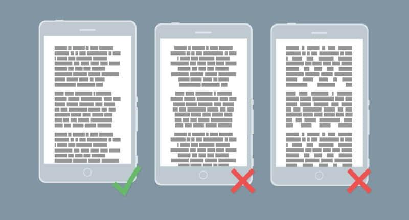 移动APP开发中字体设计的七大原则