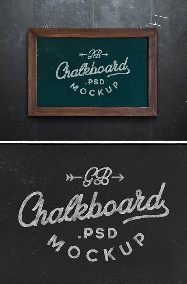 一块小黑板、公告牌PSD素材下载 黑板psd素材 公告牌psd素材  other material
