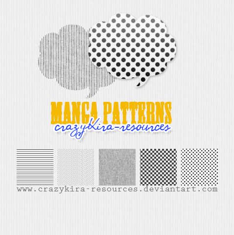 马赛克、小圆点、竖线、横线Photoshop填充素材.pat