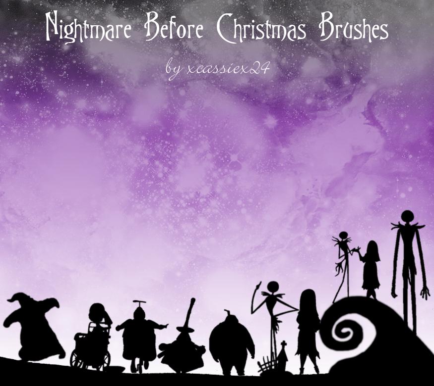 圣诞节怪人Photoshop卡通笔刷