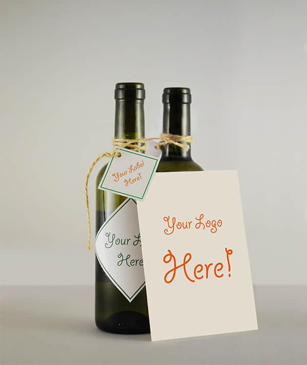 高清玻璃瓶、酒瓶子PSD素材文件下载
