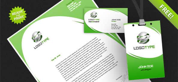 企业vi设计PSD模版素材下载