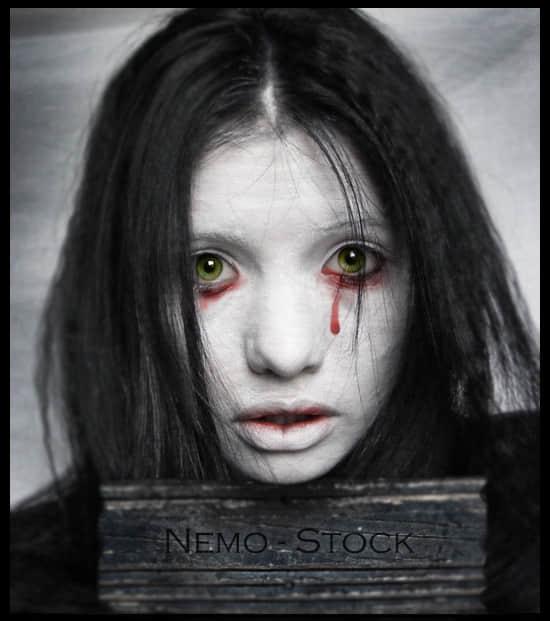 流血、血泪Photoshop恐怖笔刷