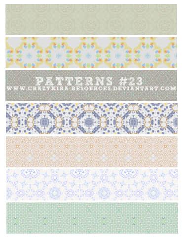 33种地毯、壁纸纹理Photoshop填充图案底纹素材 Patterns 下载