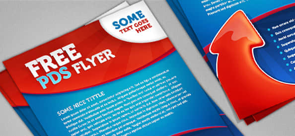 简单psd广告传单模版素材下载 传单psd素材  other material