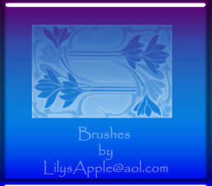 简单植物花纹饰品Photoshop装饰笔刷 植物花纹笔刷  adornment brushes flowers brushes