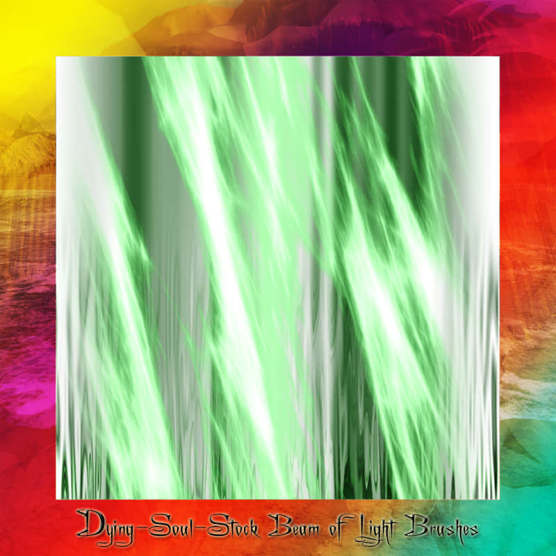抽象光影特效Photoshop笔刷免费下载