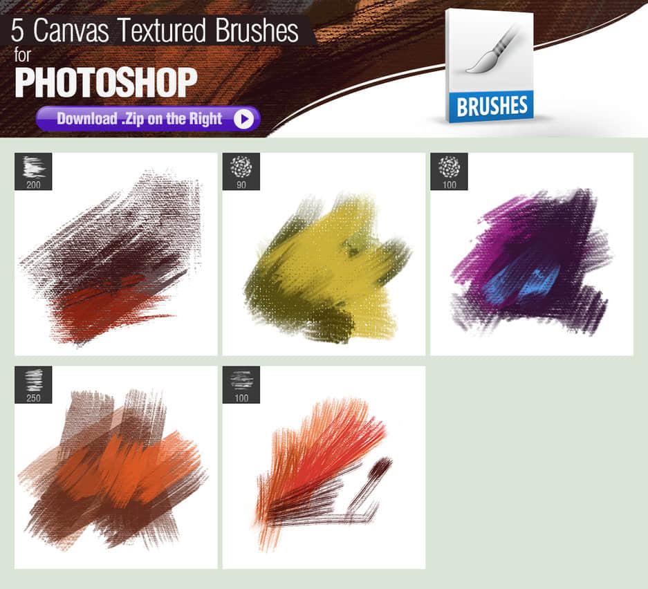 5种油漆涂抹帆布纹理效果Photoshop笔刷下载 油漆纹理笔刷 油漆划痕笔刷 帆布纹理笔刷  background brushes %e6%b2%b9%e6%bc%86%e7%ac%94%e5%88%b7
