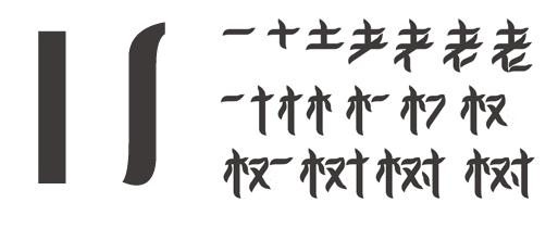 #字体教程:PS造字的原理方法大讲解