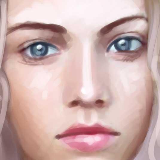 8个细致CG人物刻画数字手绘Photoshop笔刷下载