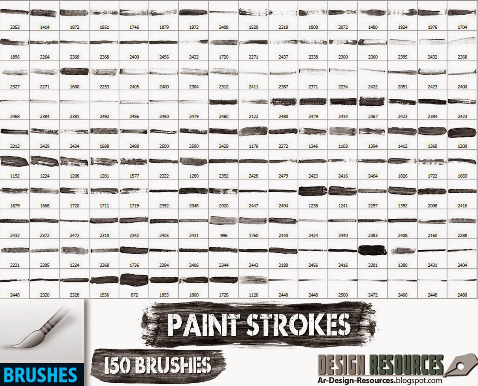 150种超级油漆、水墨划痕样式PS笔刷下载 画笔痕迹笔刷 涂抹笔刷 油漆划痕笔刷 水墨笔刷 刷子痕迹笔刷  %e6%b2%b9%e6%bc%86%e7%ac%94%e5%88%b7
