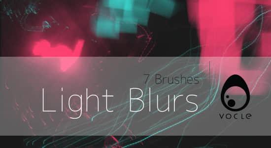 混乱光影重叠、光线效果Photoshop笔刷 光影特效笔刷  light brushes