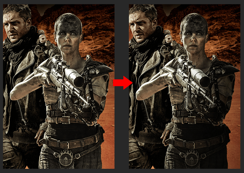 Photoshop海报制作合成教程《疯狂的麦克斯》