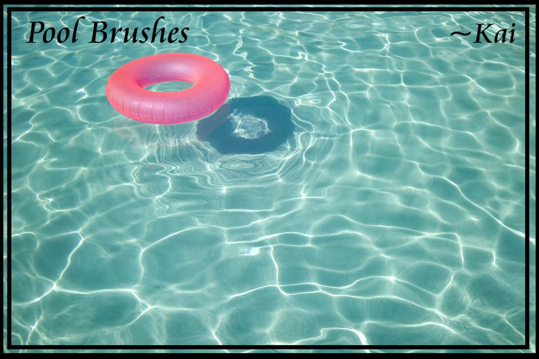 水池水面、水波嶙峋Photoshop笔刷下载