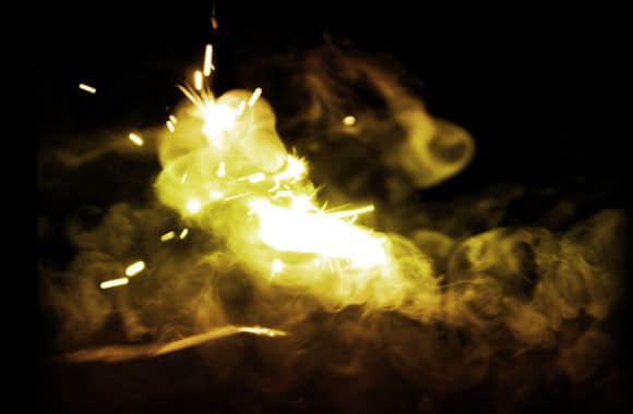 火焰、烟火、火星效果Photoshop笔刷