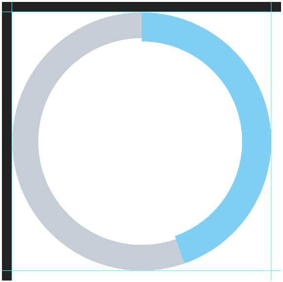 如何利用PS制作统计图表(一些饼图的科学制作技巧)