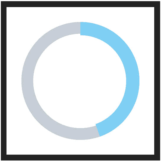 如何利用PS制作统计图表(一些饼图的科学制作技巧) ps饼图制作 ps制作图表 pa教程  ruanjian jiaocheng