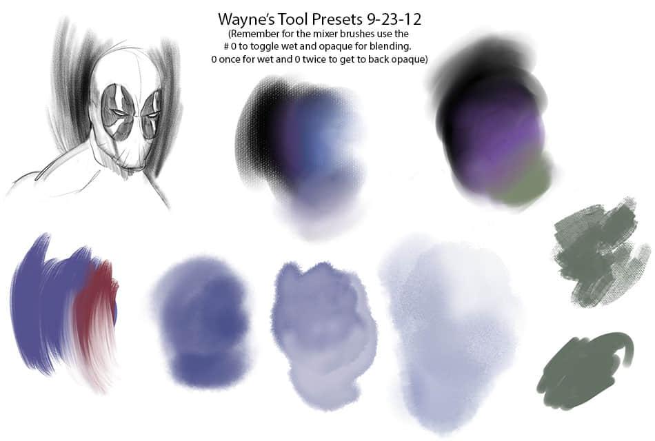 油漆预设帆布纹理Photoshop CS6笔刷下载 纹理笔刷 帆布笔刷  photoshop brush