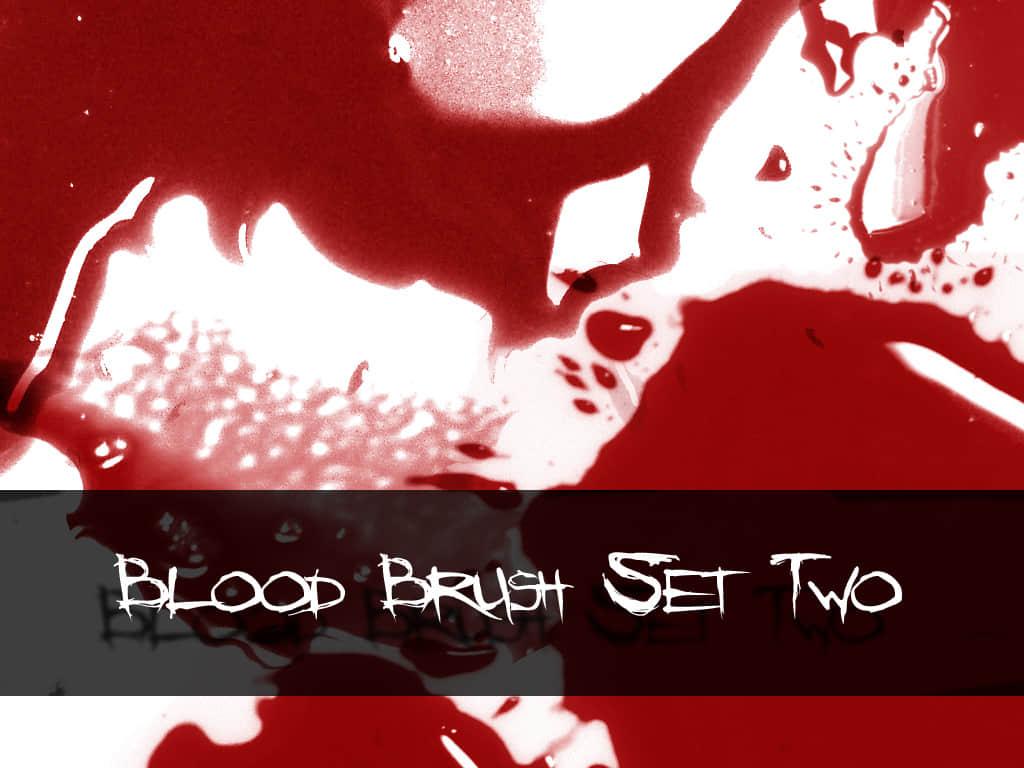 真是的血液涂抹痕迹PS笔刷下载 血迹笔刷 血液笔刷  characters brushes