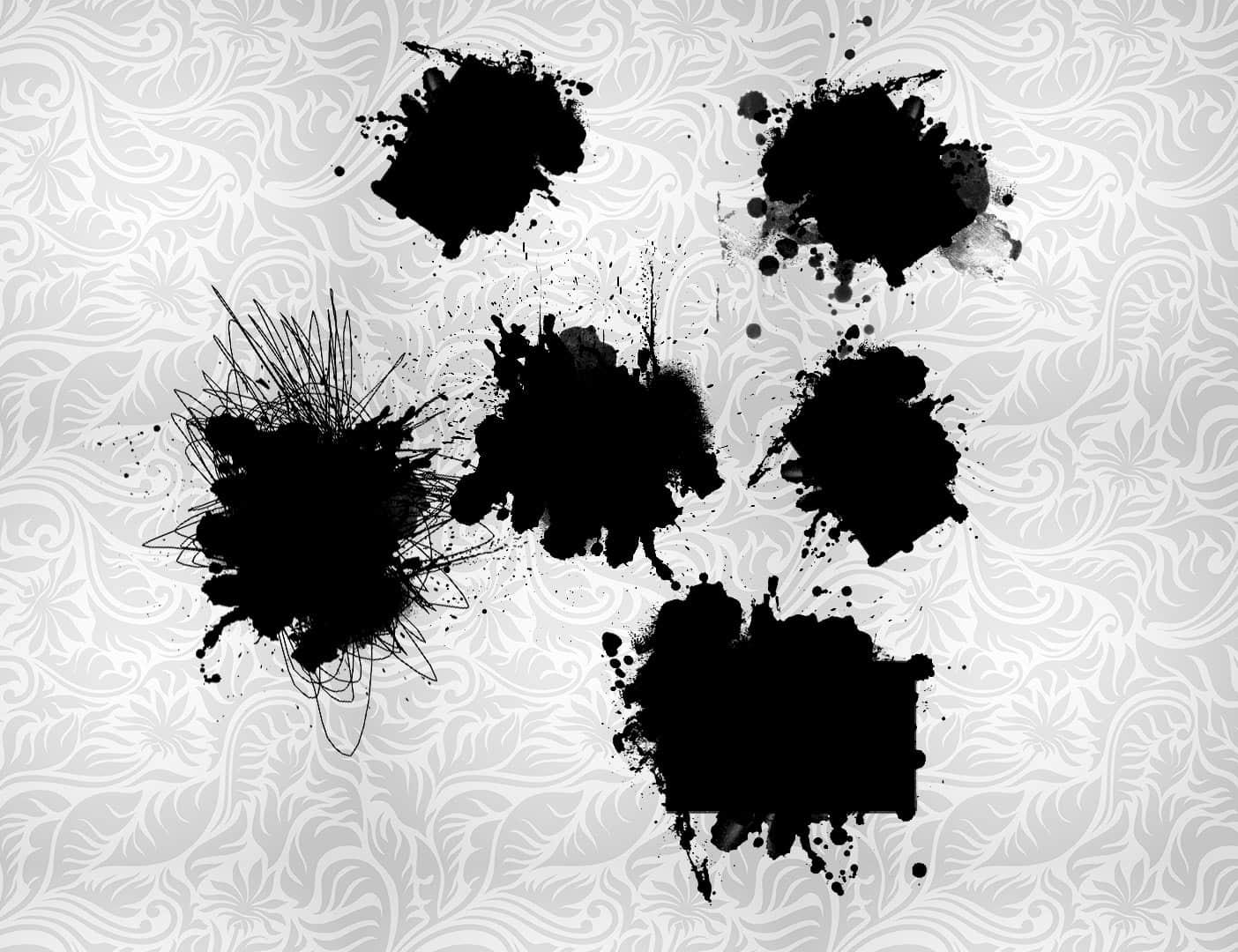 一套酷炫油漆泼墨效果背景装饰图案PS笔刷下载 酷炫油漆笔刷 泼墨笔刷  background brushes %e6%b2%b9%e6%bc%86%e7%ac%94%e5%88%b7