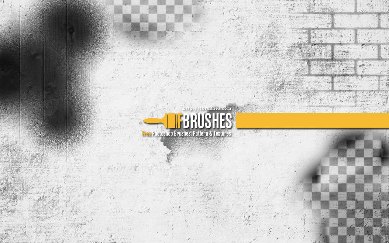 墙壁纹理、木板纹理Photoshop笔刷下载