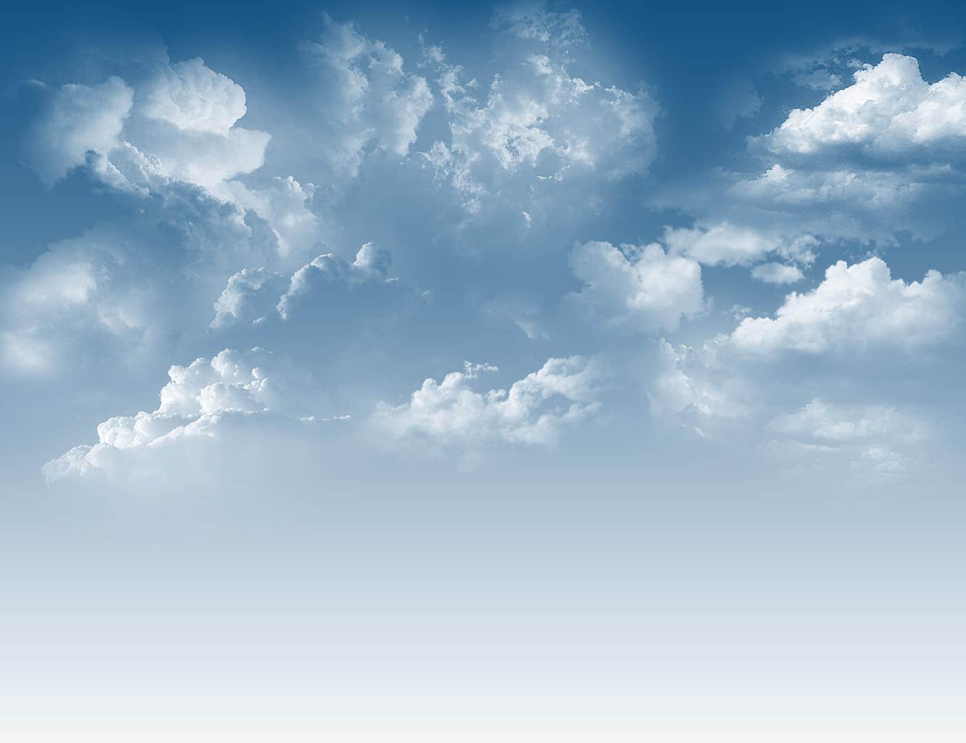 10种云朵、多云效果、天空白云PS笔刷下载