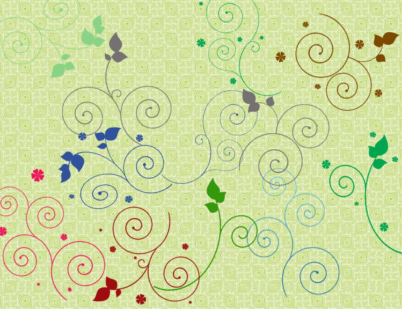 小清新文艺范漩涡枝条花纹艺术PS笔刷下载 漩涡花纹笔刷 植物花纹笔刷 文艺范花纹笔刷 小清新花纹笔刷 小清新笔刷  flowers brushes