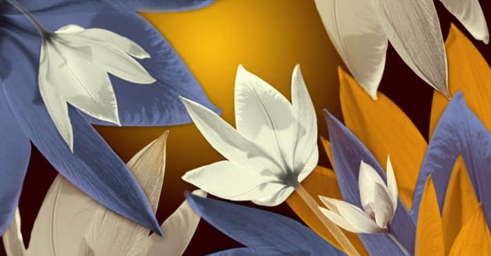 7种鲜花图形PS笔刷下载 鲜花笔刷  plants brushes