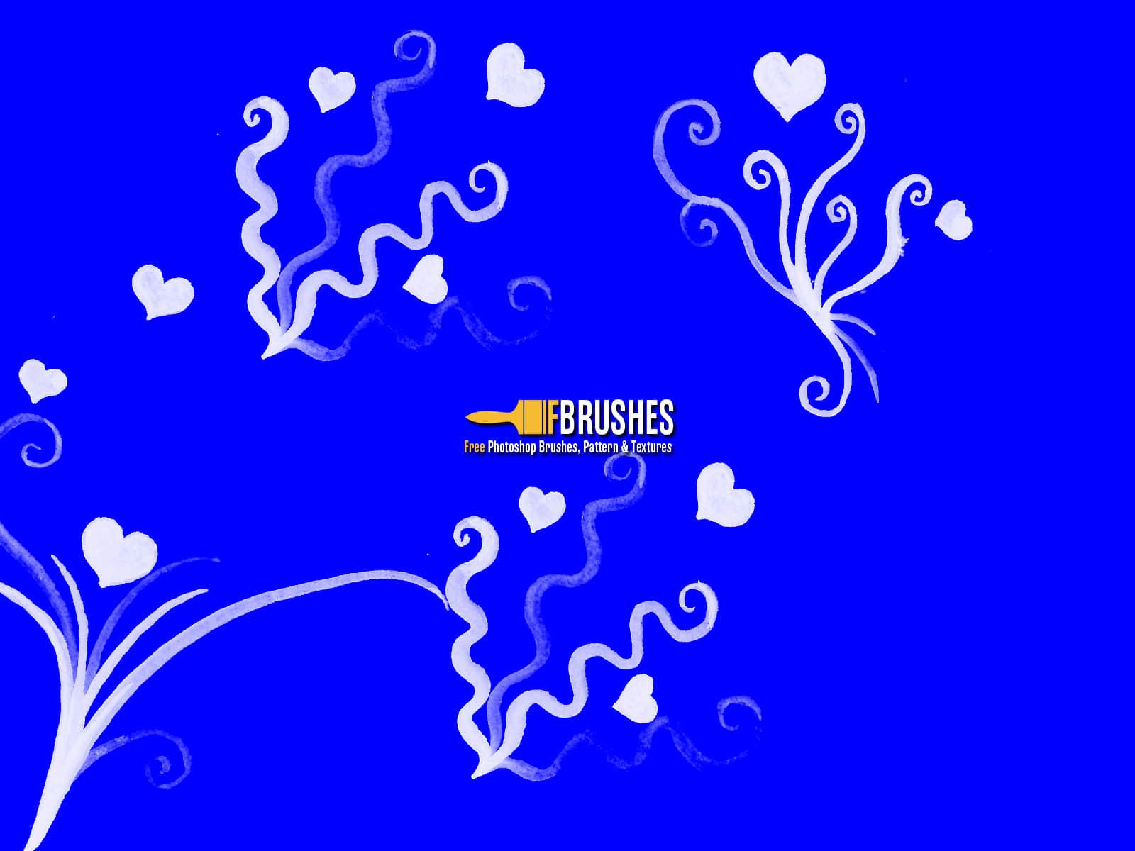 童趣涂鸦爱心花纹PS爱情纹饰笔刷 童趣笔刷 爱情笔刷 爱心笔刷 植物花纹笔刷 情人节笔刷  adornment brushes flowers brushes love brushes