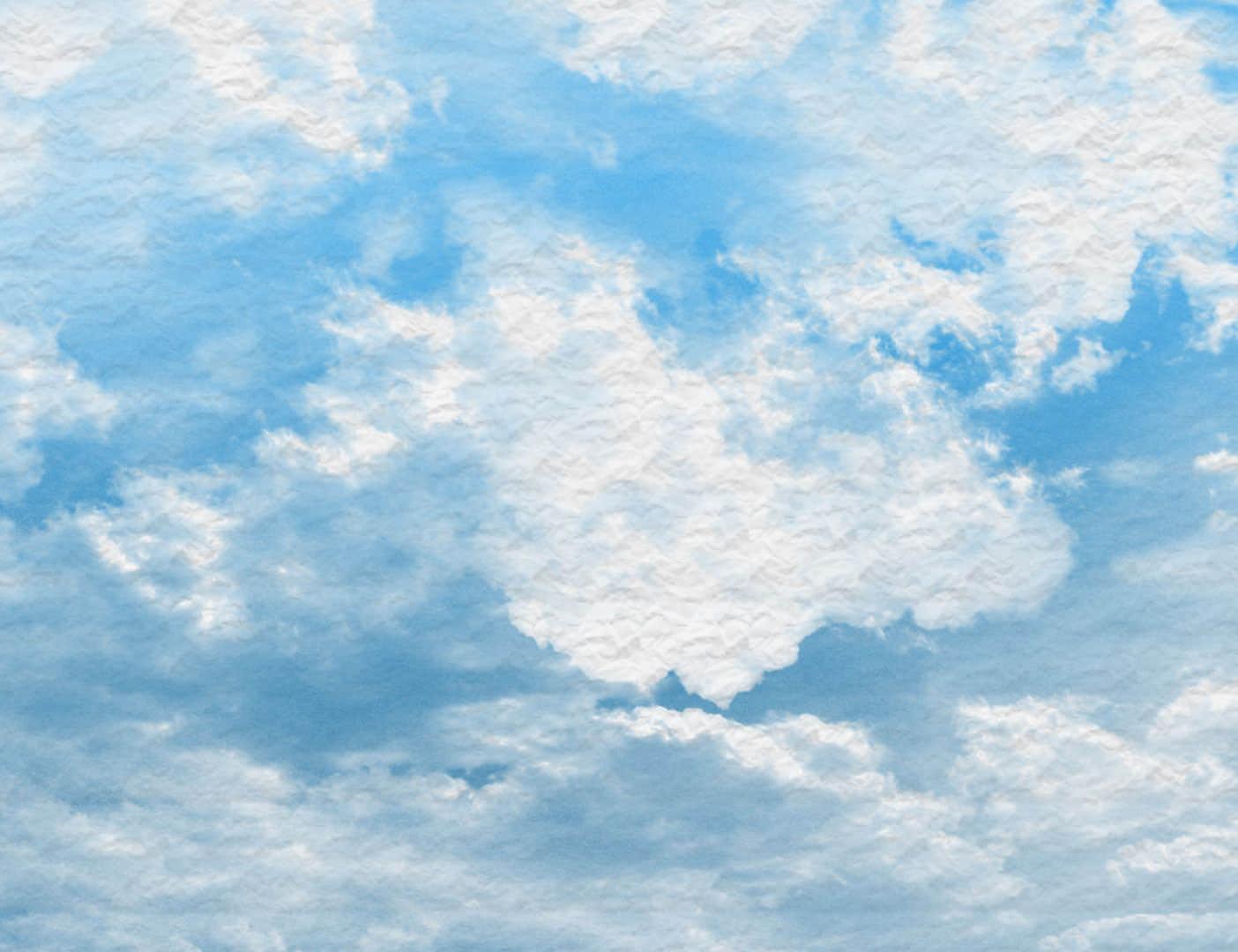 云层与蓝天效果PS笔刷下载 白云笔刷 云彩笔刷  cloud brushes