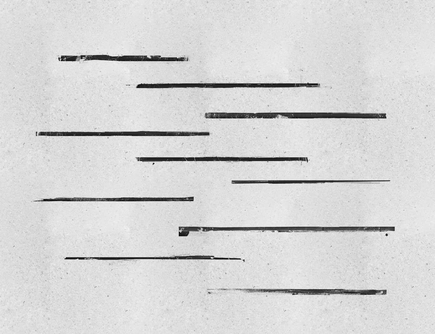 油漆刷子涂抹线条边缘痕迹PS笔刷下载