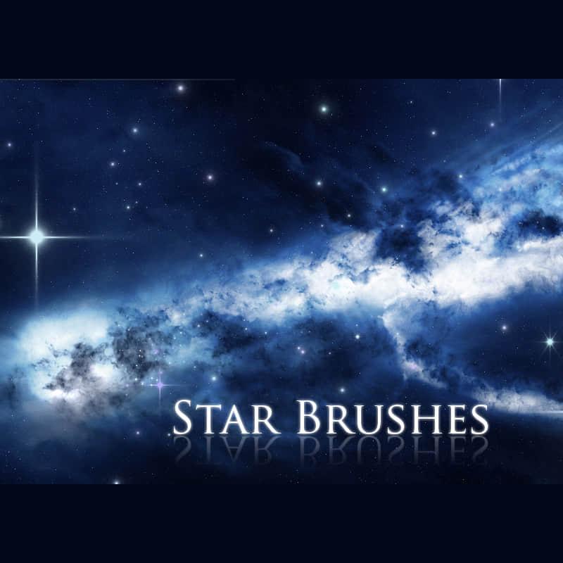 星光、闪烁、光点Photoshop笔刷下载