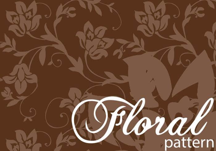 漂亮的艺术鲜花印花花纹Photoshop填充图案底纹素材 Patterns 下载