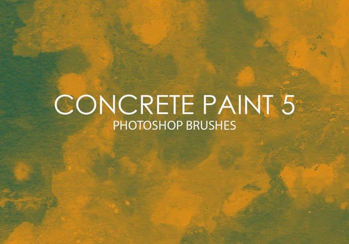 免费的混凝土涂料Photoshop墙面纹理笔刷