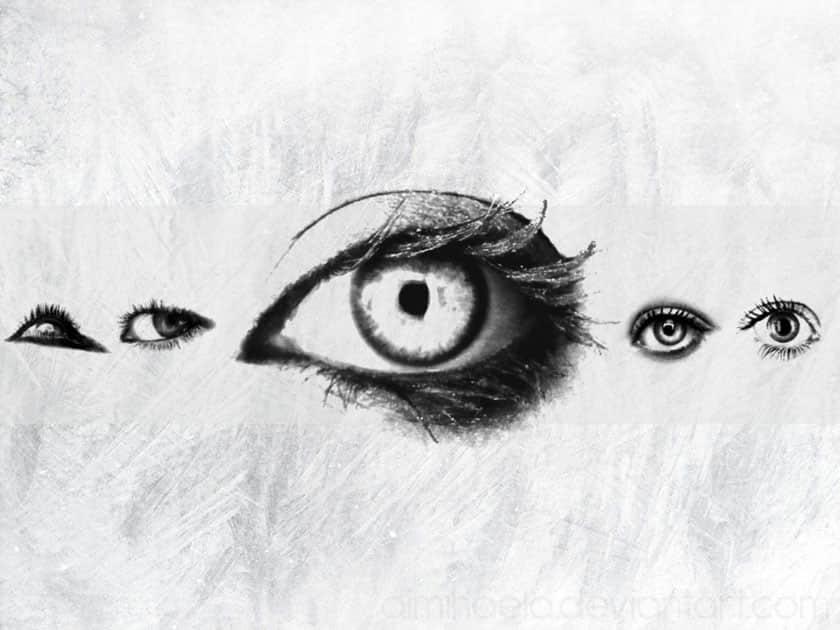 女性眼睛、媚眼、性感眼神PS笔刷素材