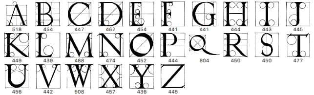 手绘西式字母表PS英文字母笔刷 英文字体笔刷 字母笔刷 字体笔刷  %e6%96%87%e5%ad%97%e7%b1%bb%e7%ac%94%e5%88%b7
