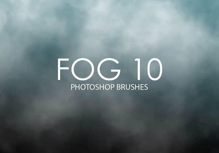 大雾效果、水蒸气环境PS笔刷下载