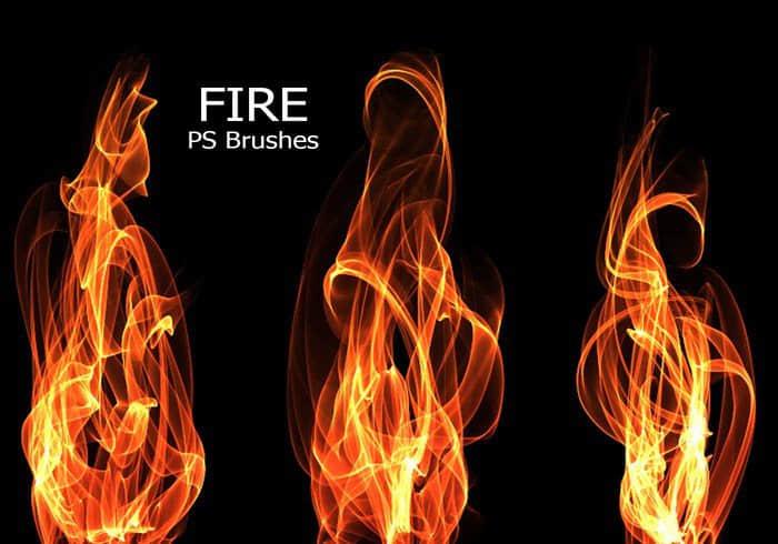 又来一组高清火焰效果、火苗燃烧Photoshop高清笔刷下载 燃烧笔刷 火苗笔刷  flame brushes