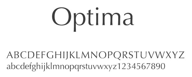 字体设计:英文字体的气质和选用详解(一)
