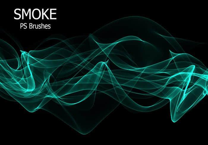 20种新型烟雾效果、香烟烟气PS笔刷下载