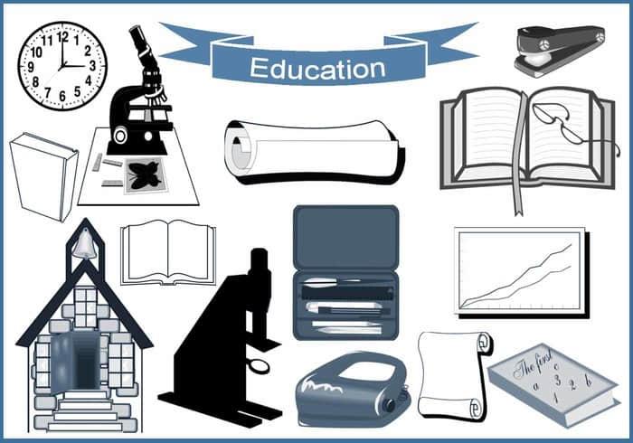 20种学习元素、学校相关图形Photoshop笔刷下载 学校笔刷 学习笔刷  %e5%8d%a1%e9%80%9a%e7%ac%94%e5%88%b7