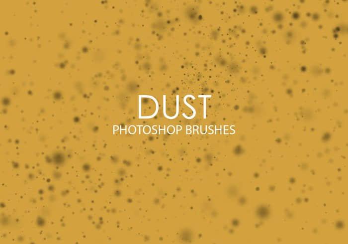 15个高质量的灰尘、尘埃效果PS笔刷下载