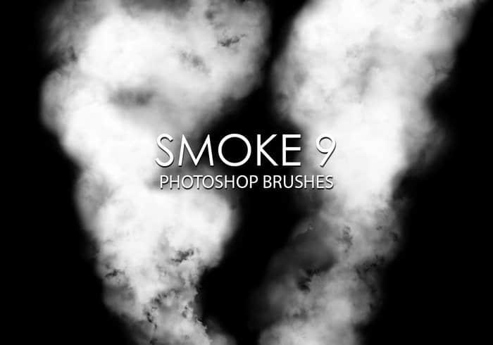 15个高质量的烟雾效果Photoshop烟雾笔刷