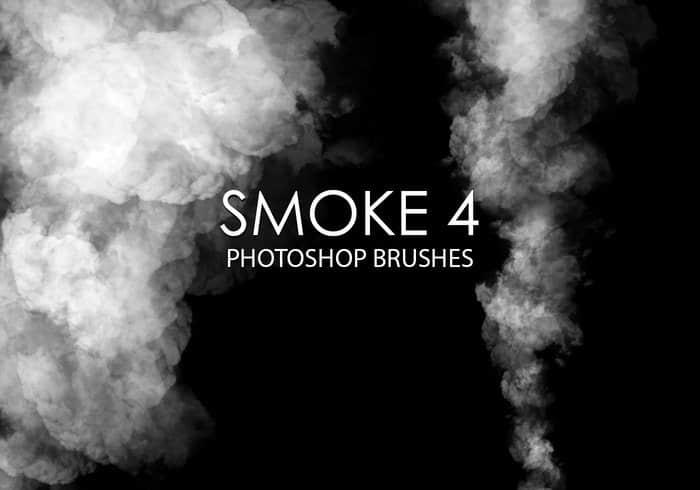 爆炸烟雾效果、浓烟滚滚Photoshop烟雾笔刷