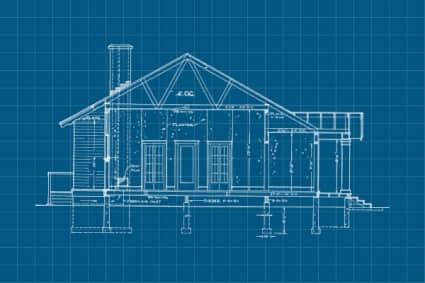 20种建设图纸、房屋蓝图photoshop笔刷素材下载